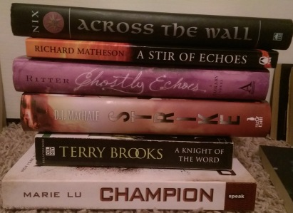 First spine poetry poem